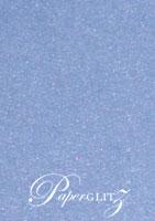 12cm Square Scored Folding Card - Stardream Metallic Vista