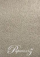 Glamour Pocket 150mm Square - Embossed Modena Pewter Pearl