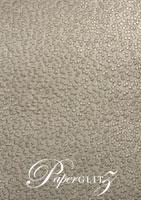 Handmade Embossed Paper - Modena Pewter Pearl Full Sheet (56x76cm)