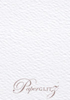 C6 Tear Off RSVP Card - Mohawk Via Felt Bright White