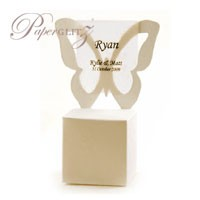 Chair Box - Butterfly - Crystal Perle Metallic Sandstone