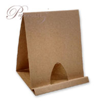 Card Display Stands - Buffalo Kraft 283gsm