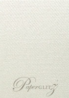 C6 Tear Off RSVP Card - Pearl Textures Collection Embossed Satin