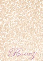 Handmade Embossed Paper - Pebbles Baby Pink Pearl - Strips 49.5x300mm 25Pck