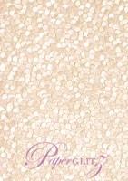 Handmade Embossed Paper - Pebbles Baby Pink Pearl Full Sheet (56x76cm)