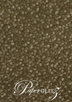 Handmade Embossed Paper - Pebbles Chocolate Pearl A4 Sheets