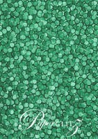 Glamour Pocket 150mm Square - Embossed Pebbles Emerald Green Pearl