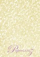 Glamour Pocket 150mm Square - Embossed Pebbles Ivory