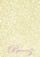 Handmade Embossed Paper - Pebbles Ivory A4 Sheets