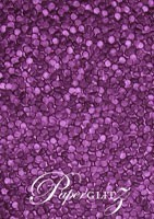 Glamour Pocket 150mm Square - Embossed Pebbles Violet Pearl