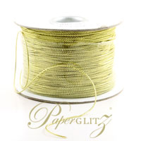 1mm String - 200Mtr Roll - Metallic Gold