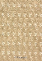 Glamour Pocket 150mm Square - Embossed Sea Breeze Mink Pearl