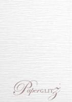 120x175mm Flat Card - Semi Gloss White Lumina