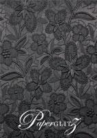 Glamour Pocket DL - Embossed Spring Black Pearl