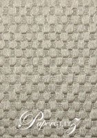 Handmade Embossed Paper - Thunder Pewter Pearl A4 Sheets