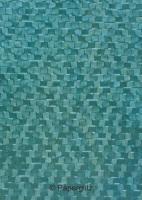 Handmade Embossed Paper - Trident Oceanic Pearl Full Sheet (56x76cm)