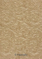 Glamour Add A Pocket V Series 9.6cm - Embossed Tuscany Mink Pearl