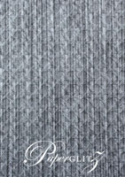 Glamour Pocket 150mm Square - Embossed Wicker Brushed Midnight Pearl