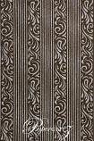 Handmade Chiffon Paper - Serenity Chocolate Brown & Silver Glitter A4 Sheets